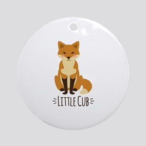 Little Cub Ornament (Round)