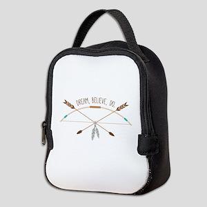 Dream Believe Do Neoprene Lunch Bag