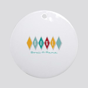 Bowl-A-Rama Ornament (Round)