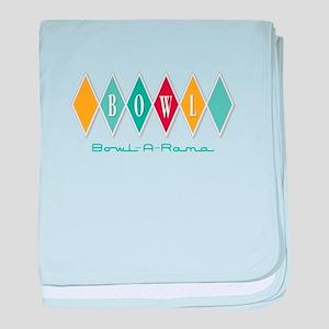 Bowl-A-Rama baby blanket