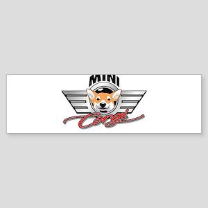 Mini Corgi Club Bumper Sticker