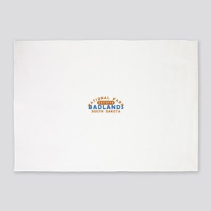 Badlands - South Dakota 5'x7'Area Rug