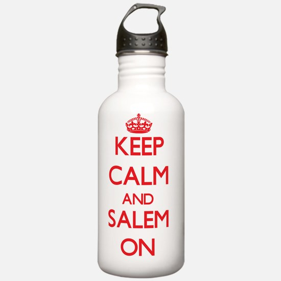 Keep Calm and Salem ON Water Bottle