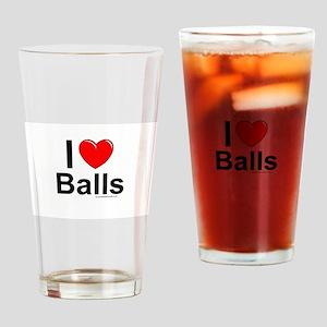 Balls Drinking Glass