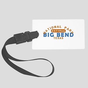 Big Bend - Texas Large Luggage Tag