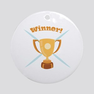 Winner Ornament (Round)