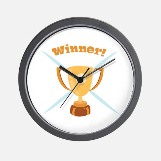 Winner Wall Clock