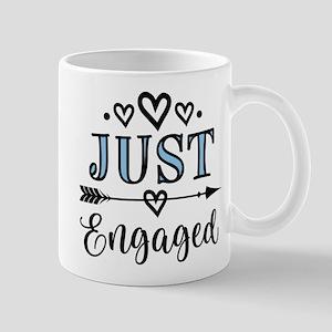 Just Engaged Engagement Mugs