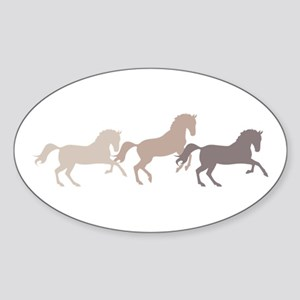 Wild Horses Running Sticker