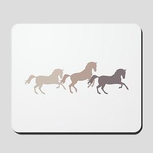 Wild Horses Running Mousepad