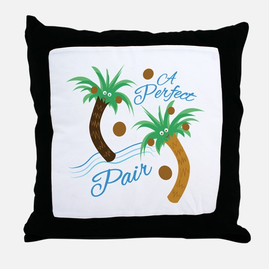 Perfect Pair Throw Pillow