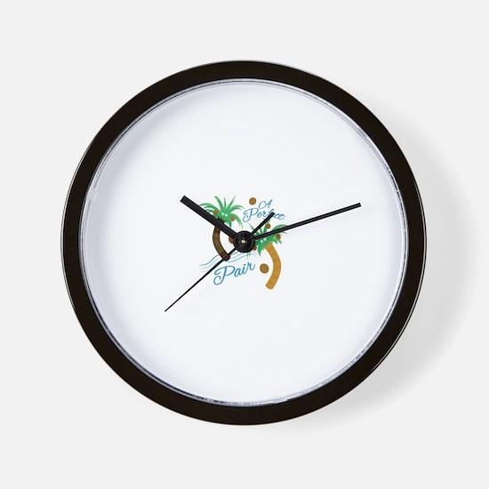 Perfect Pair Wall Clock