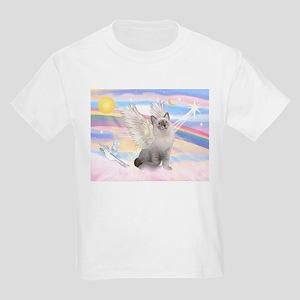 Ragdoll (#1) cat Angel Kids Light T-Shirt