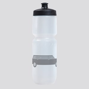 Limousine Car Transportation Sports Bottle