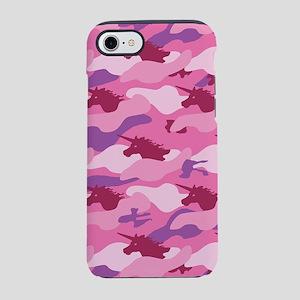 Unicorn Camouflage Pink iPhone 8/7 Tough Case