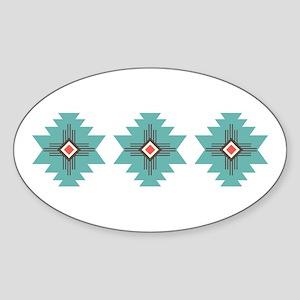 Southwest Native Border Sticker