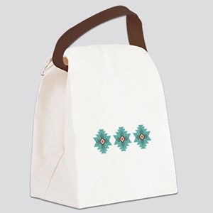 Southwest Native Border Canvas Lunch Bag
