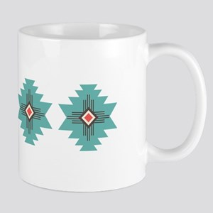 Southwest Native Border Mugs