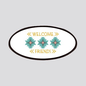 Welcome Friends Patch