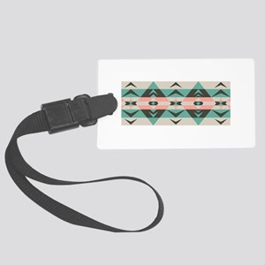 Southwest Native Border Luggage Tag