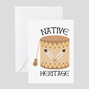Native American Heritage Tribal Greeting Cards