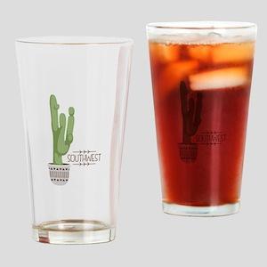 Southwest Drinking Glass