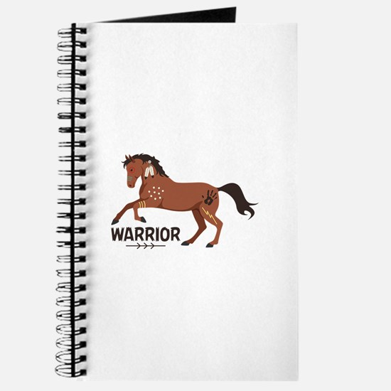Native American War Horse Warrior Journal