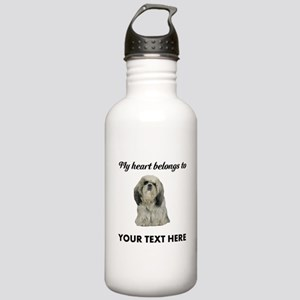 Personalized Shih Tzu Stainless Water Bottle 1.0L