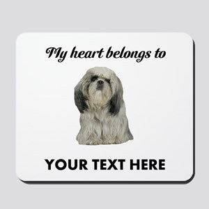 Personalized Shih Tzu Mousepad