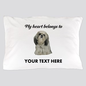 Personalized Shih Tzu Pillow Case