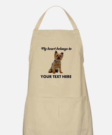 Silky Terrier Apron