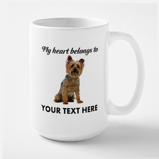 Silky Terrier Large Mug