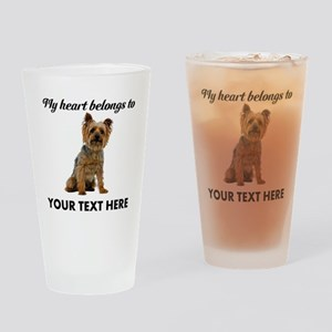 Silky Terrier Drinking Glass