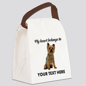 Silky Terrier Canvas Lunch Bag