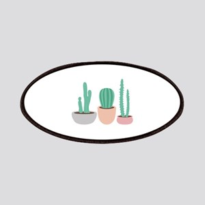 Potted Cactus Desert Plants Patch