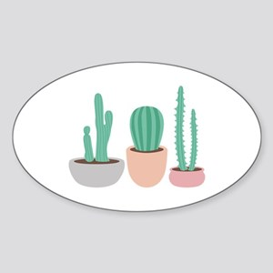 Potted Cactus Desert Plants Sticker