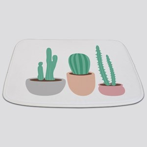 Potted Cactus Desert Plants Bathmat