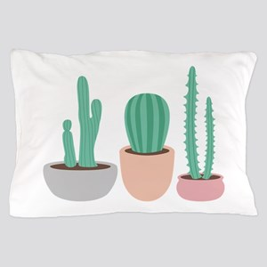 Potted Cactus Desert Plants Pillow Case