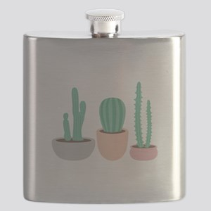 Potted Cactus Desert Plants Flask