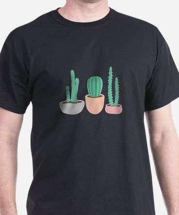 Potted Cactus Desert Plants T-Shirt