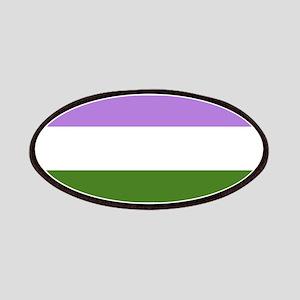 Genderqueer Pride Flag Patch