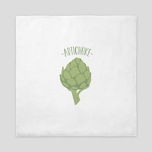 Artichoke Vegetable Queen Duvet