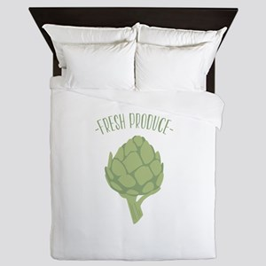 Artichoke Vegetable Fresh Produce Queen Duvet
