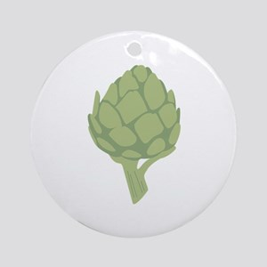 Artichoke Vegetable Ornament (Round)