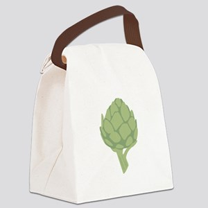 Artichoke Vegetable Canvas Lunch Bag