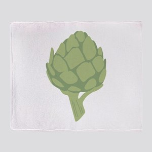 Artichoke Vegetable Throw Blanket