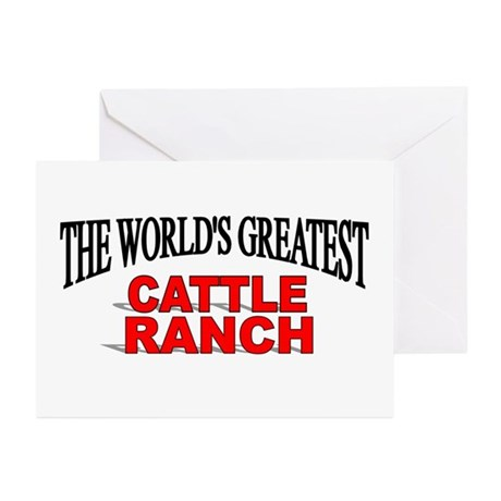 """The World's Greatest Cattle Ranch"" Greeting Cards"