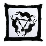 Tinners Rabbit Throw Pillow