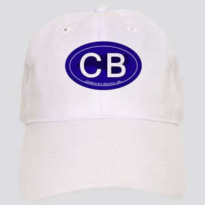 Carolina Beach NC Oval CB Baseball Cap