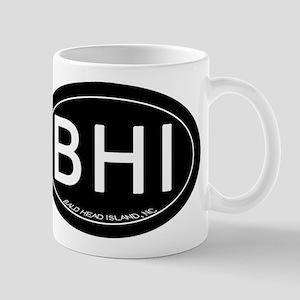 Bald Head Island NC Oval BHI Mugs